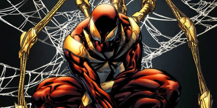 Iron-Spider-Suit-Comics