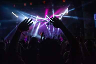 concert inside concert hall
